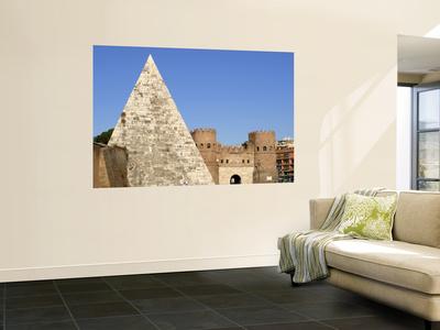 Piramide Di Caio Cestio Wall Mural by Paolo Cordelli