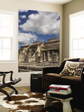 Temple of the Warriors Wall Mural by Sabrina Dalbesio