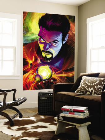 Strange No.5 Cover: Dr. Strange Wall Mural by Brandon Peterson