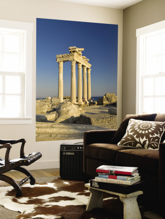 The Temple of Apollon Wall Mural by Izzet Keribar