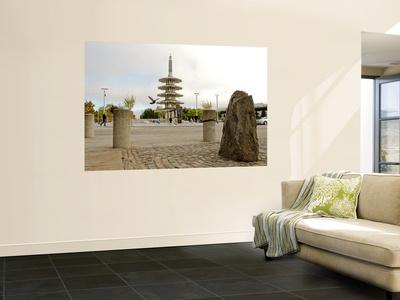 Peace Pagoda Wall Mural by Sabrina Dalbesio