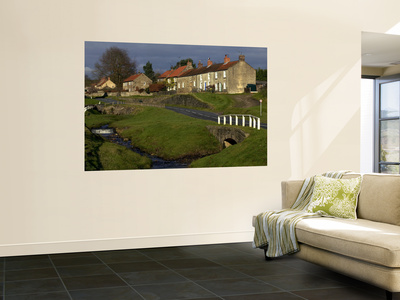 Hutton-Le-Hole, North York Moors National Park Wall Mural by Doug McKinlay