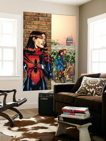 Amazing Spider-Girl No.26 Cover: Spider-Girl Wall Mural by Ron Frenz