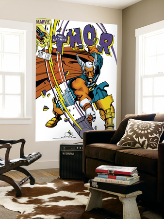 The Mighty Thor No.337 Cover: Beta-Ray Bill Wall Mural