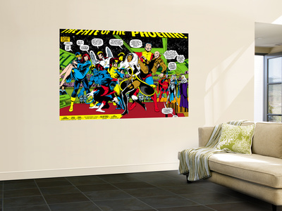 Phoenix: The Untold Story No.1 Group: Storm Wall Mural by John Byrne