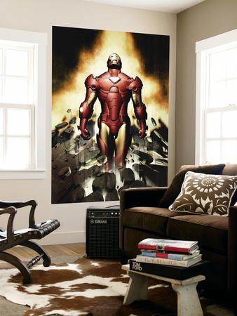Iron Man No.82 Cover: Iron Man Vægplakat