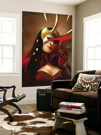 The Mighty Avengers No.29 Cover: Loki Wall Mural