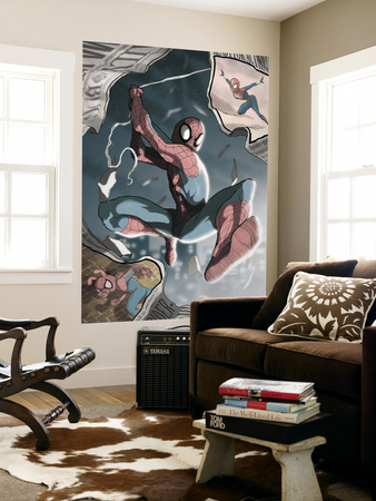 Amazing Spider-Man Family No.7 Cover: Spider-Man Wall Mural by Joe Suitor