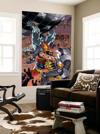 Uncanny X-Men: First Class No.7 Cover: Colossus and Wolverine Wall Mural by Reilly Brown