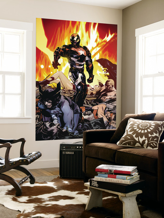 Dark Reign: Lethal Legion No.3 Cover: Iron Patriot Wall Mural by Tommy Lee Edwards