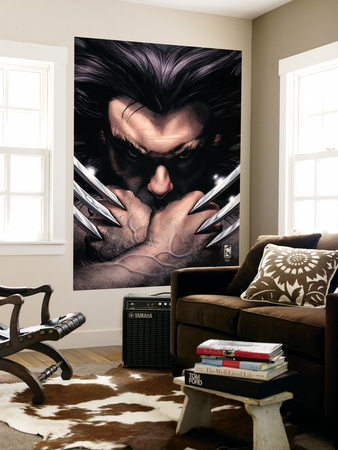 Wolverine No.55 Cover: Wolverine Wall Mural by Simone Bianchi
