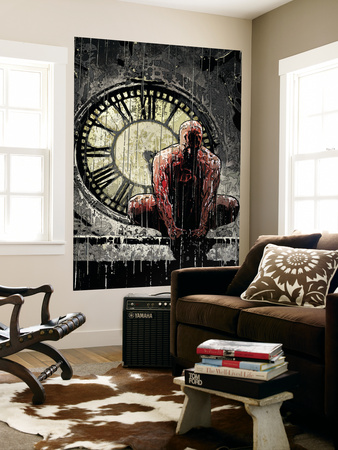 Daredevil No.62 Cover: Daredevil Wall Mural by Alex Maleev