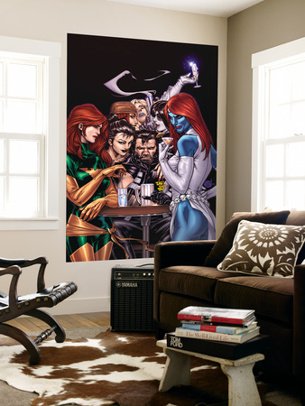 Wolverine Weapon X No.10 Cover: Mystique, Phoenix and Wolverine Wall Mural by Adam Kubert