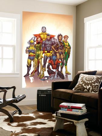 Uncanny X-Men: First Class No.1 Cover: Cyclops Wall Mural by Roger Cruz