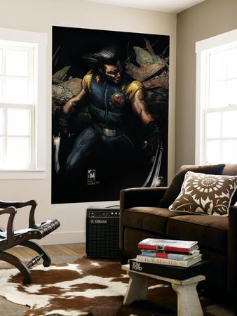 Ultimate Origins No.1 Cover: Wolverine Wall Mural