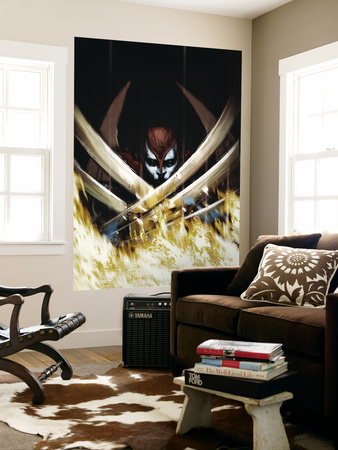 X-Force No.15 Cover: Archangel Wall Mural by Kaare Andrews