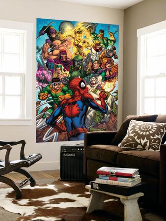 Spider-Man & The Secret Wars No.2 Cover: Spider-Man Wall Mural by Patrick Scherberger