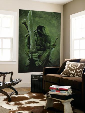 Skaar: Son of Hulk No.11 Cover: Skaar Wall Mural by Travis Charest