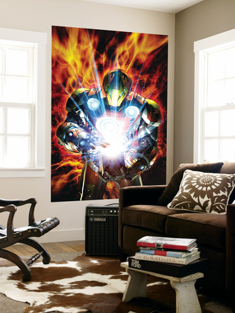 Ultimate Armor Wars No.4 Cover: Iron Man Wall Mural by Brandon Peterson