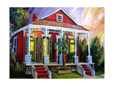 New Orleans Shotgun Posters by Diane Millsap