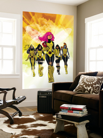 X-Men: Pixie Strikes Back No.1 Cover: Pixie, X-23, Blindfold, Armor and Mercury Wall Mural by Stuart Immonen
