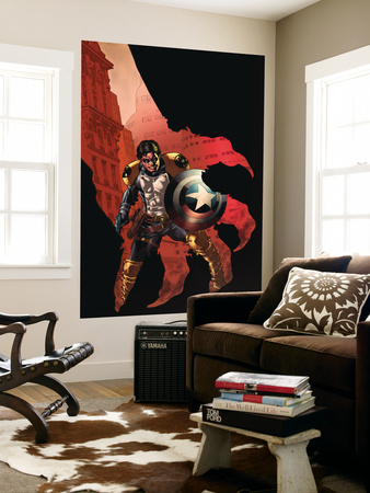 Civil War: House Of M #3 Cover: Bucky Wall Mural