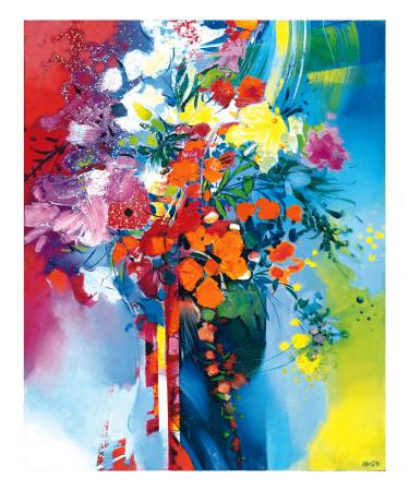 Bouquet en Mouvement Posters by Max Laigneau