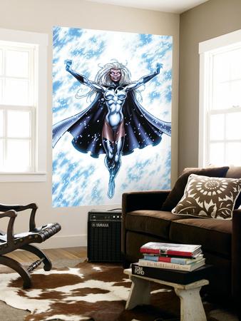 X-Men Forever No.15 Cover: Storm Wall Mural by Tom Grummett