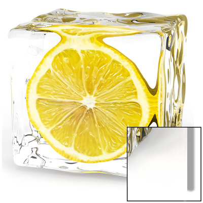 Iced Lemon Kunstdruck