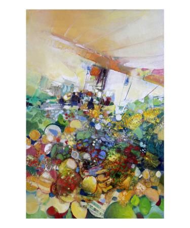 Marche de Provence a Antibes Prints by Max Laigneau