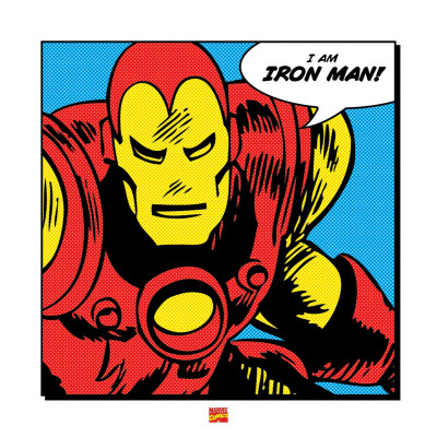 I Am Iron Man Kunstdruck