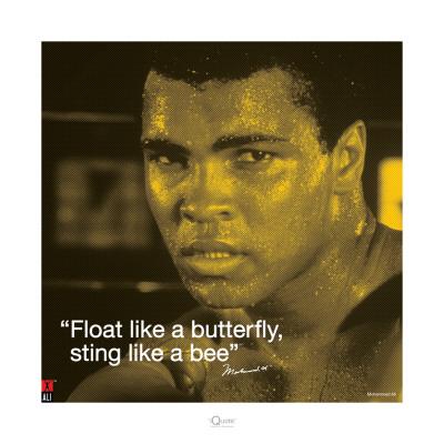 Muhammad Ali: Float Like a Butterfly Prints