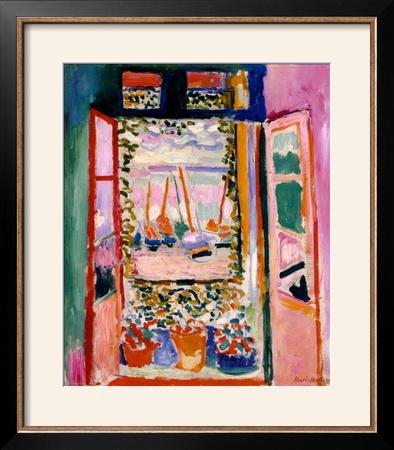 Open Window, Collioure, 1905 Poster by Henri Matisse