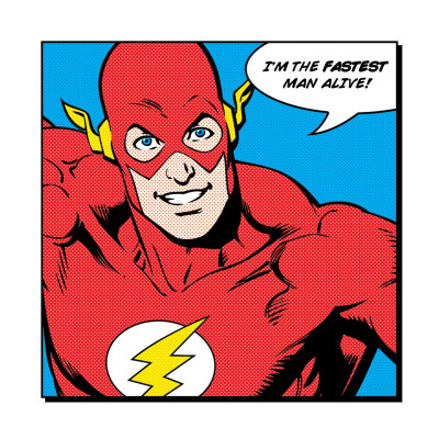 Flash: I'm the Fastest Man Alive Kunstdruck