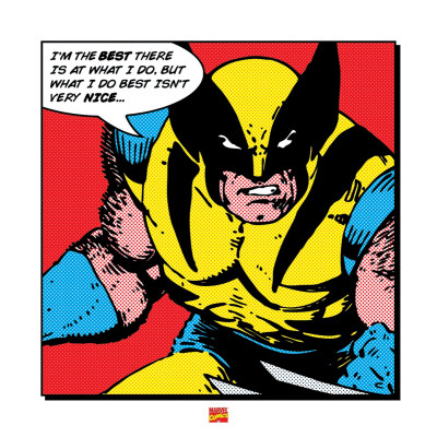Wolverine: I'm the Best Reproduction d'art