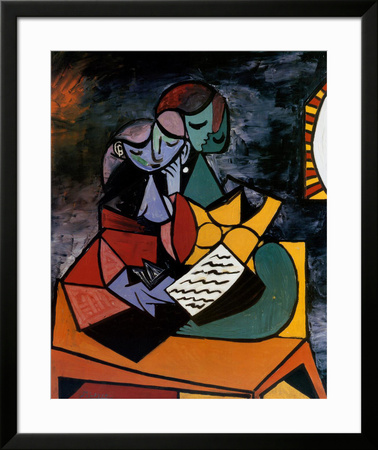 The Lesson Posters by Pablo Picasso