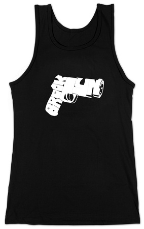 Juniors: Tank Top - Brookyn Gun T-Shirt!