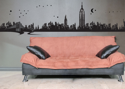 New York Wall Decal Sticker Wall Decal