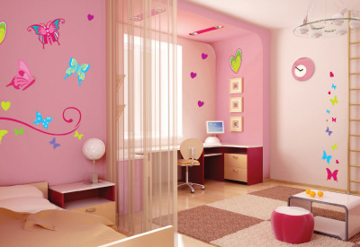 Butterflies Wall Decal Sticker Wall Decal