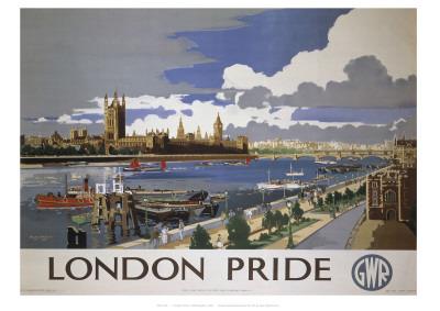 London Pride Giclee Print