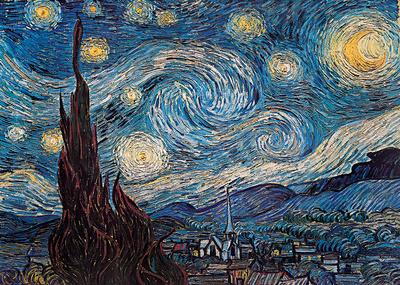 Van Gogh - Starry Night Print