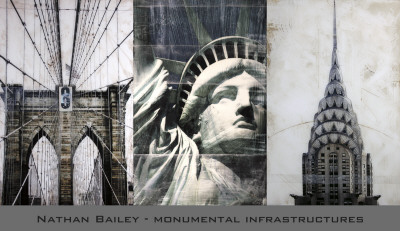 Monumental Infrastructures Prints by Nathan Bailey