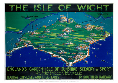 The Isle of Wight, SR, c.1930 Giclee Print by George Ayling