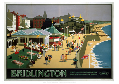 Bridlington Sea Front Giclee Print