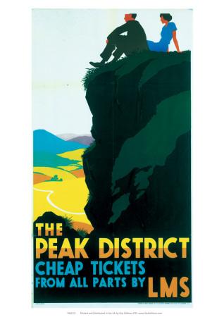 The Peak District, LMS, c.1935 Giclee Print by Ralph Mott