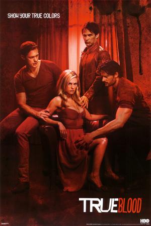 True Blood - Show Your True Colors Poster