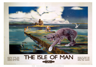 The Isle of Man, BR (LMR), c.1950 Giclee Print by Anthony Brandt