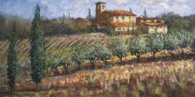 Tuscan Olives Prints by Malcolm Surridge