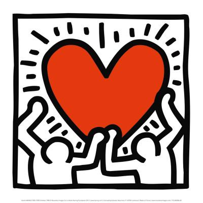 Uden titel, ca. 1988 Plakater af Keith Haring