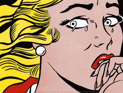 Crying Girl, c.1963 Print by Roy Lichtenstein